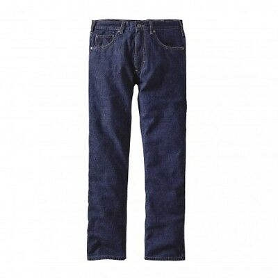 Flannel Lined Straight Fit Jeans - Reg - homme
