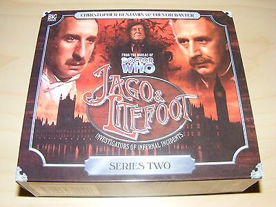 JAGO & LITEFOOT - SERIES 2 two - Big Finish audiobook 5xCD set - Dr Doctor Who