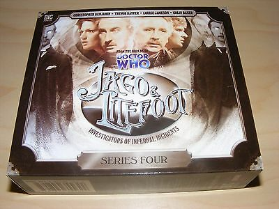 JAGO & LITEFOOT - SERIES 4 four - Big Finish audiobook 5xCD set - Dr Doctor Who