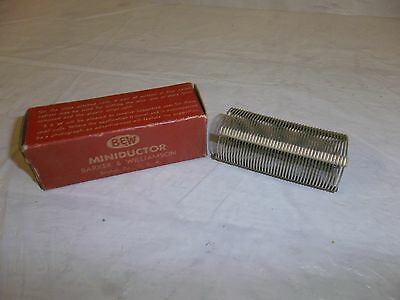 Vintage B&w Air Inductor Miniductor 3015 Coil Barker Williamson
