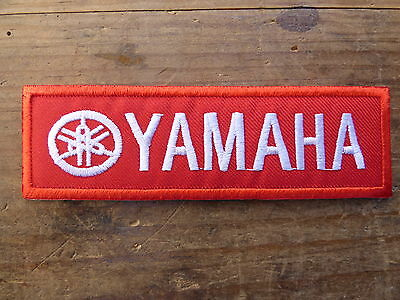A049 ECUSSON PATCH THERMOCOLLANT aufnaher toppa YAMAHA grand prix moto rallye