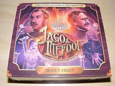JAGO & LITEFOOT - SERIES 8 eight - Big Finish audiobook 5xCD set - Dr Doctor Who