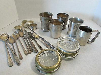 Silver Plate Great Mixed Lot Look ***
