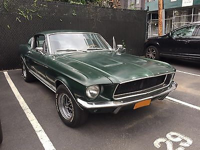 1967 Ford Mustang A-code Fastback 1967 Mustang Fastback
