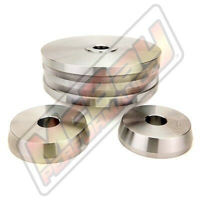 "3 Pc Light Truck Hubless Rotor Cone Adapter Set 1"" Arbor Brake Lathe Ammco 9312"