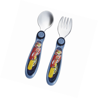 The First Years Disney/Pixar Cars and Easy Grasp fork and spoon Flatware