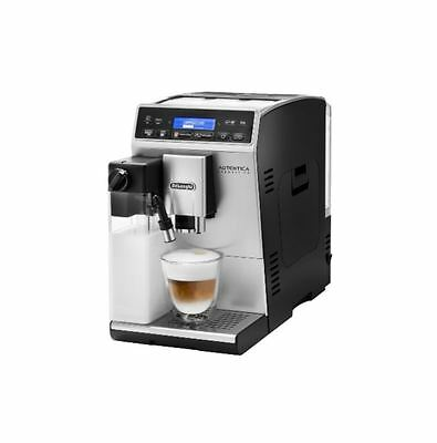 delonghi etam autentica cappuccino kaffeevollautomat silber schwarz eur 500 28. Black Bedroom Furniture Sets. Home Design Ideas