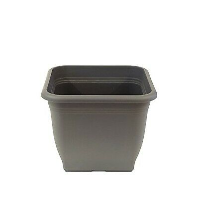 Greemotion Plastic Flower Pots   Indoor Plant Pot   Grey Garden Pot    Plastic.