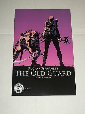 THE OLD GUARD #1 Image 25th Anniversary Blind Box Color Variant
