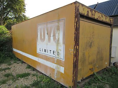 20 foot Insulated aluminium storage container with pivot jacking legs