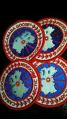 4x Canada Goose Replacement Badge / Patch New 6.2cm