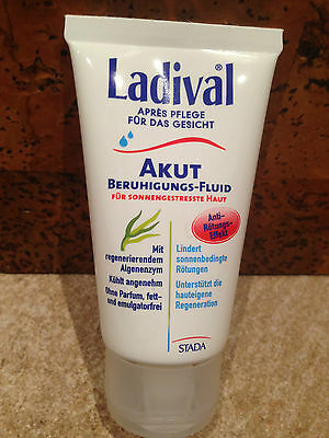 GP:26,60€/100ml Ladival Apres Pflege Gesicht  Akut Beruhigungs fluid 75ml