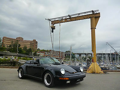 1989 Porsche 911 Speedster Convertible 2-Door 1989 Porsche Speedster - Rare Triple Black, Widebody, Turbo Seats
