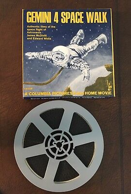 Gemini 4 Space Walk Columbia Pictures 8 Mm Home Movie