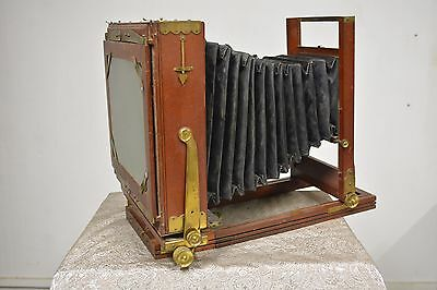 "Rochester Optical Full Plate EMPIRE STATE  6.5""x8.5"" Large Format w/ Packard"