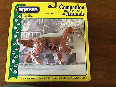 Breyer Irish Setter Companion Animals #1526 Dog NIB