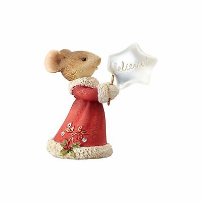 Enesco H7 Heart of Christmas Mice – Mouse Believe Ornament 4057666