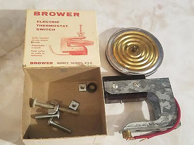 NEW Brower Electric Snap Action Thermostat Switch for Incubator Vegetable Plant
