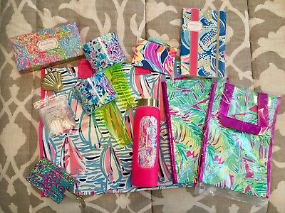 New Lilly Pulitzer Gwp Gift Accessories Items Lot