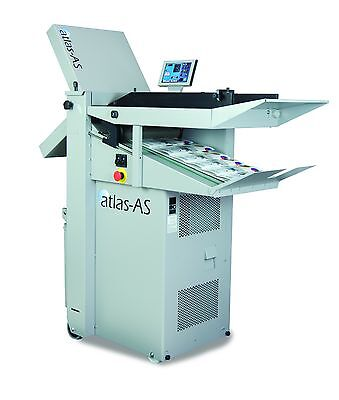 New Formax FD Atlas AS Air Feed Folder Atlas-AS Bottom Air Feed Fold 27,500 hr