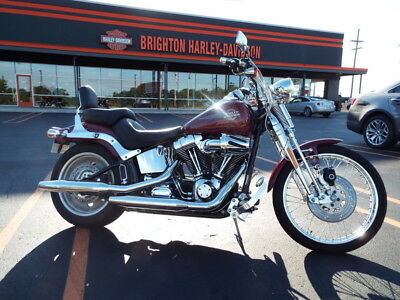 Harley-Davidson FXSTS - Softail Springer  2006 FXSTSI Cruiser Used 1450cc 88ci CLEAN