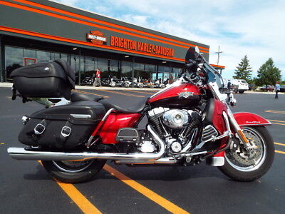 Harley-Davidson® FLHRC - Road King® Classic  2013 Touring Used 103 1690 6 speed 2 Tone-Ember Red/Merlot Sunglo