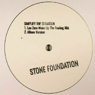 "STONE FOUNDATION - Simplify The Situation - Vinyl (limited hand-stamped 12"")"