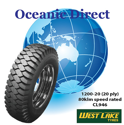 Franna Crane 1200-20 CL946 WESTLAKE 20 ply 80km speed rated TRUCK TYRE