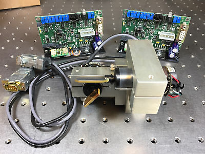 Cambridge 6850 Laser Galvo Scanners Scanset w/ XY Mount, 670xx Drivers, Cables