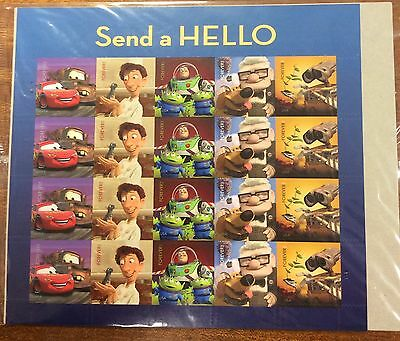 Send a hello sheet of 20 stamps