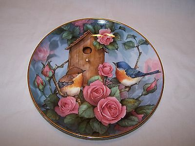 Royal Doulton Settling In Plate by Carolyn Shores Wright - Limited Edition