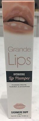 Grande Lips Hydrating Lip Plumper - Cashmere Buff 0.084oz New Nude Collection