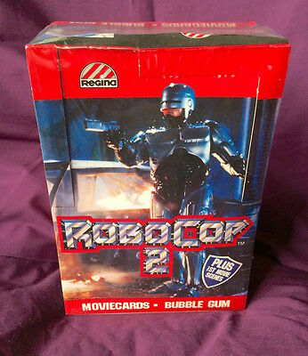 *low Price* Robocop 2 1990 Mint Sealed Box Movie Trading Cards New Zealand Only