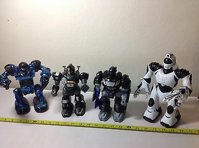 small robosapien and other robot toys