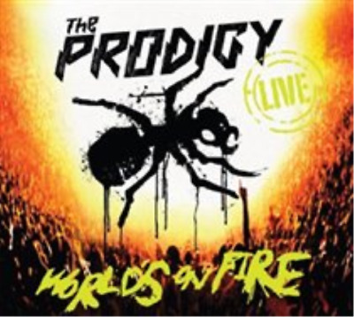 The Prodigy-World's On Fire  CD with DVD NUOVO (US IMPORT)