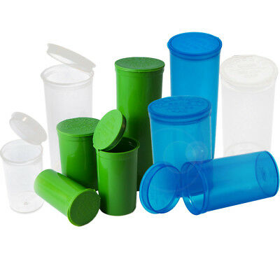 PREMIUM SQUEEZE Pop Top Bottle Container - High Quality (USA - SHIPS SAME DAY)