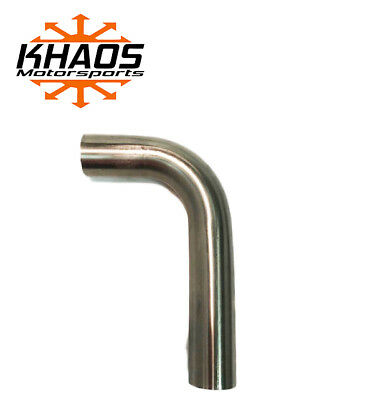 "1.625"" 1 5/8"" 90 DEGREE 304 STAINLESS 16ga MANDREL BEND EXHAUST TUBING"