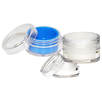 Acrylic Concentrate Container Jars with Silicone Insert (5ml, 7ml, 10ml) - USA