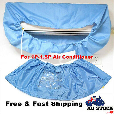 Air Conditioner PU Cleaning Dust Washing Cover Clean Waterproof Protector New