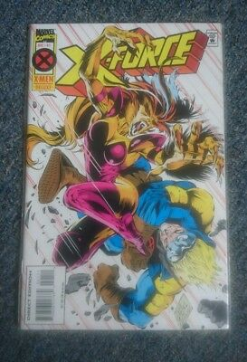 X-force comic 41 marvel superhero avengers x men