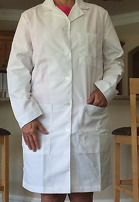 Women's 1st Quality Meta Sanibel  Lab Coat Sizes: Medium- XL
