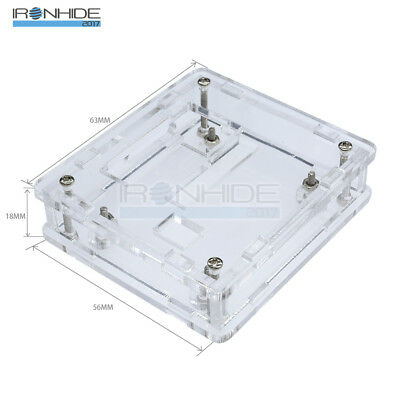 Clear Acrylic Case Shell Box Kit for XH W1209 Digital Temperature Control Módulo