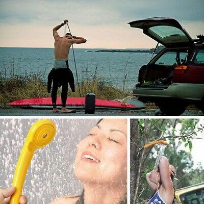 Outdoor 12v Travel Portable Shower Set Pump Camping Caravan Car Shower Tools AU