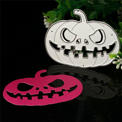 Halloween Pumpkin Cutting Dies Stencil For DIY Scrapbook Album Paper Cards Craft