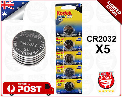 CR2032 3V Lithium Cell Button Battery KODAK ULTRA Watch Camera Battery Bulk x 5