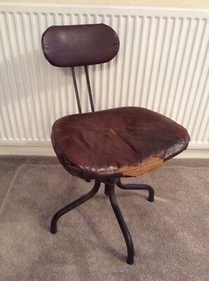 """Vintage""""Bell Barn Equipment """"Industrial Office Chair"""