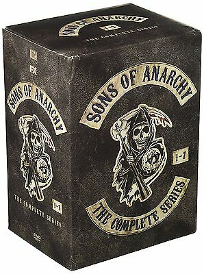 NewSons of Anarchy:The Complete Series Seasons 1-7 1 2 3 4 5 6 7 (30 DVD Set)F&S