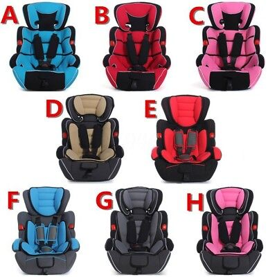 New Convertible Car Seat Infant Safety Children Baby Booster Group 1/2/3 9-36kg