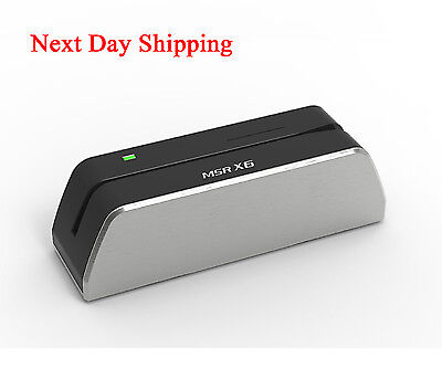 Next Day Shipping MSRX6 Hico USB Magnetic Card Reader Writer Collector MSR206