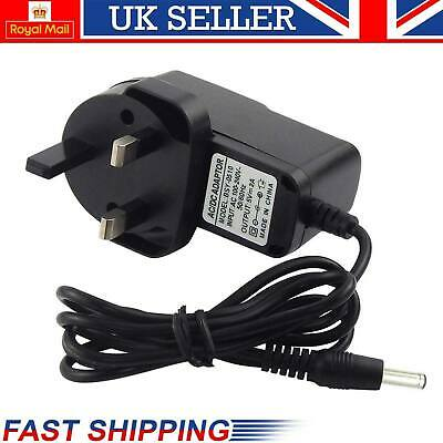 New 3 Pin Main Charger 5V Power Adapter 2A AC-DC Switching Power Supply UK Stock